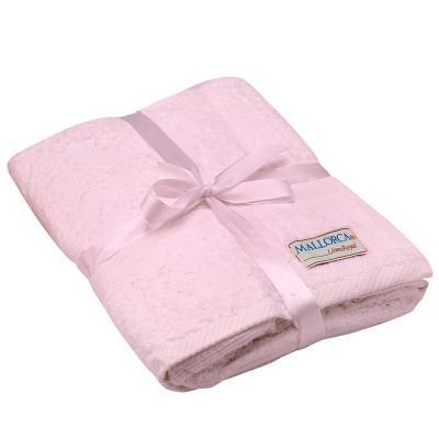 Toallón de baño grecco rosa