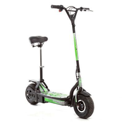 Scooter eléctrico con asiento 300 W negro