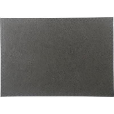 Individual ecocuero gris