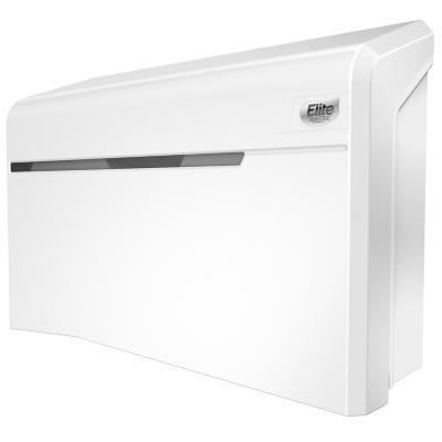 Dispensador blanco de papel higiénico doble rollo