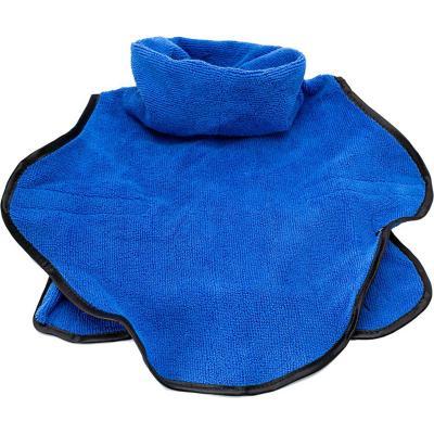 Bata de baño para perro toalla talla M