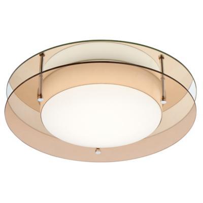 Plafón circular retro 2 luces E27