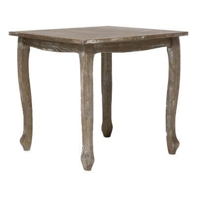 Mesa de comedor 80x80x76 cm madera