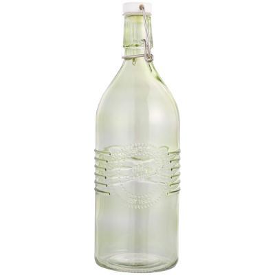 Botella de vidrio verde 1 l