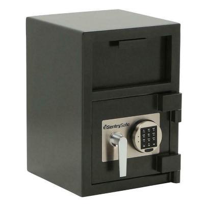 Caja depositos ranura y cerradura digital 26,64 l