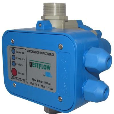 """Controlador electrónico de presión 1 1/4""""  3 HP"""
