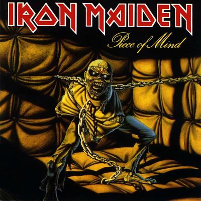 Vinilo iron maiden, piece of mind