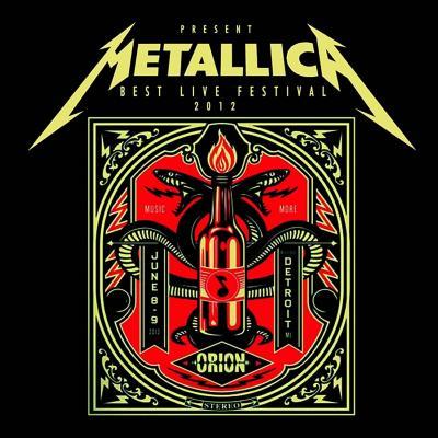 Vinilo metallica, best live festival 2012