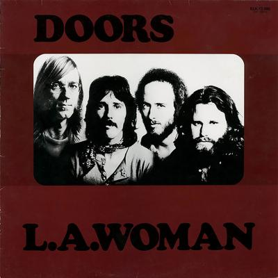 Vinilo the doors, l.a. woman