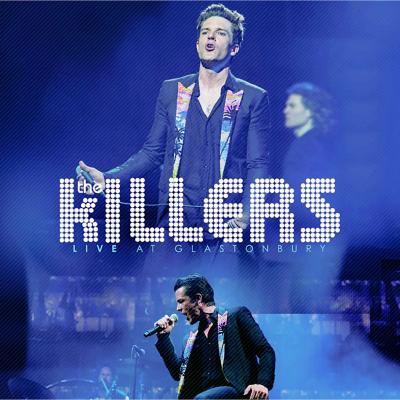 Vinilo the killers, live at glastonbury