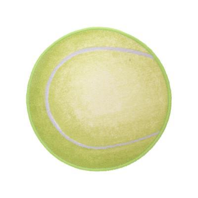 Bajada de cama sport tenis 57x57 cm verde