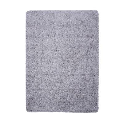 Bajada de cama washable rug 50x80 cm gris