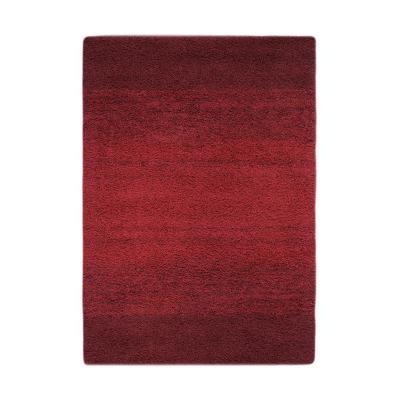 Bajada de cama jet 60x120 cm rojo