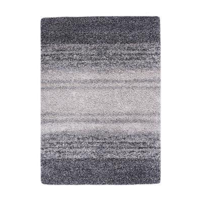 Bajada de cama jet 60x120 cm gris