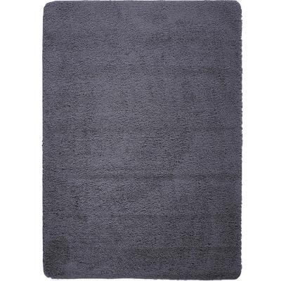 Bajada de cama washable rug 50x80 cm negro