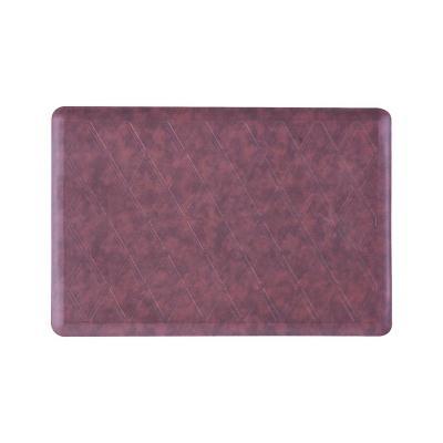 Limpiapiés kitchen 51x76 cm rombo rojo