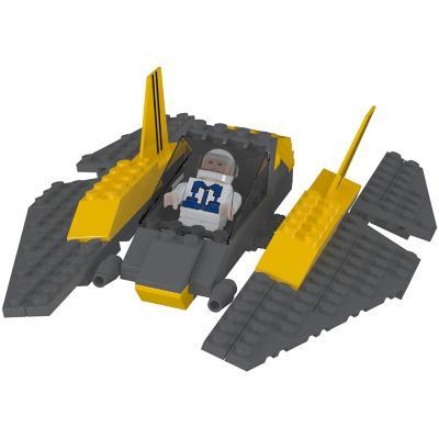 Juguete bloques de construcción espacial 111 piezas
