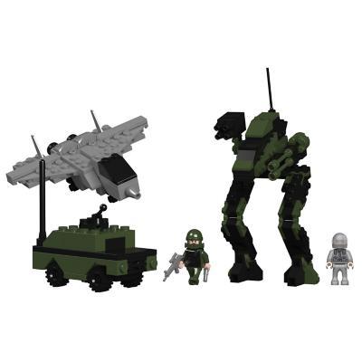 Juguete bloques de construcción militar 225 piezas