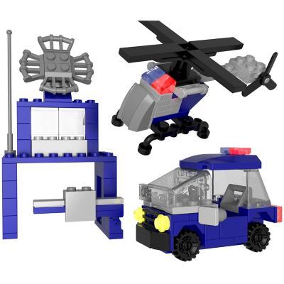 Juguete bloques de construcción policía 146 piezas