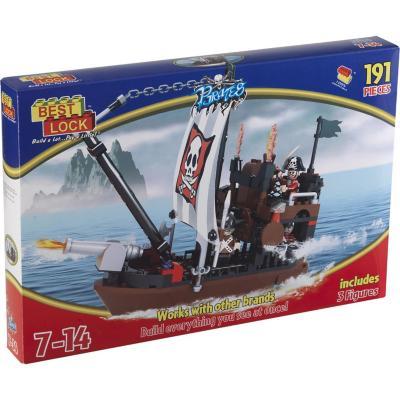 Juguete bloques de construcción pirata 191 piezas