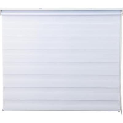 Cortina enrollable Duo Lite 120x165 cm blanca