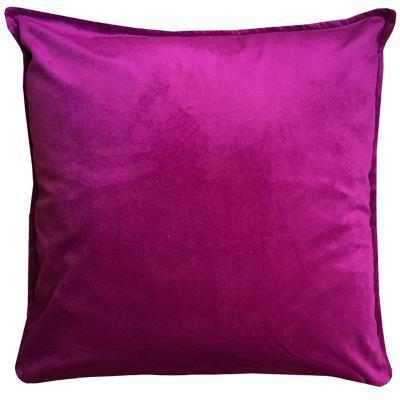 Cojín púrpura terciopelo 45x45 cm
