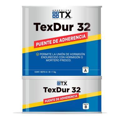 Juego (A+B) 1 kg Texdur 32 puente de adherencia