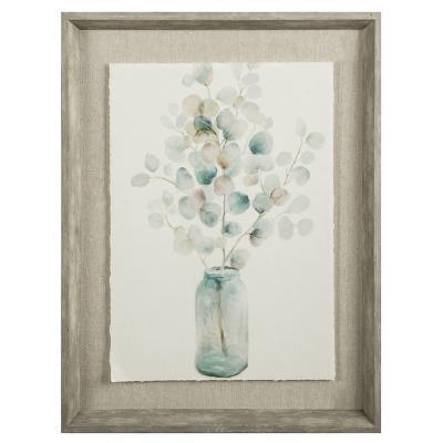 Cuadro Flor jarra 43x53 cm