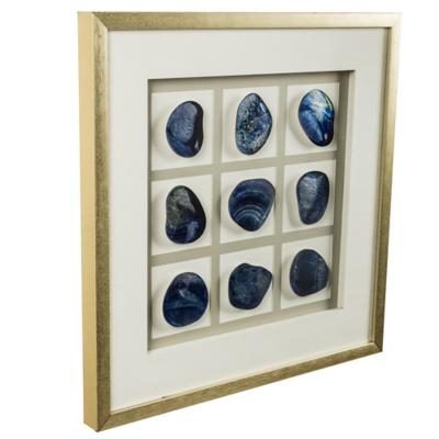 Cuadro Piedra azul 63x63 cm