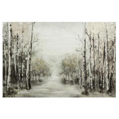 Canvas Paisaje árbol 90x60 cm