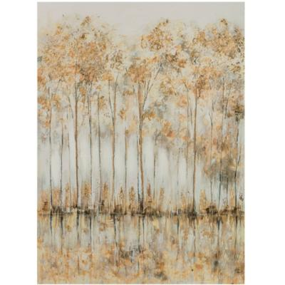 Canvas Arboles green 60x80 cm