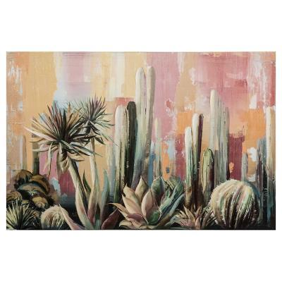 Canvas Cactus 90x60 cm