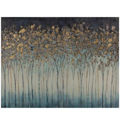 Canvas Floral Trees 80x60 cm