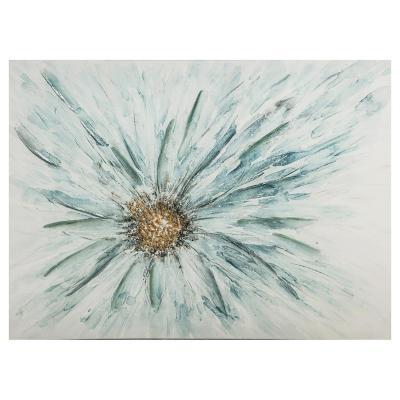 Canvas Floral planta 80x60 cm