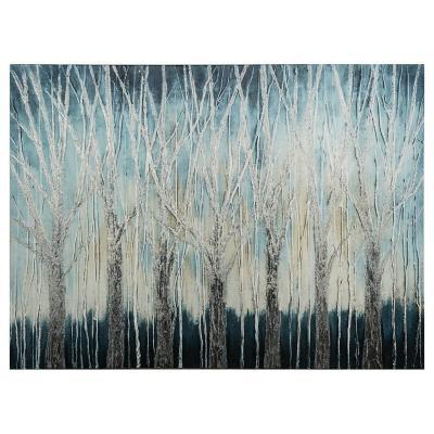 Canvas Floral árbol 80x60 cm