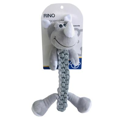 Juguete para mascota Rinoceronte