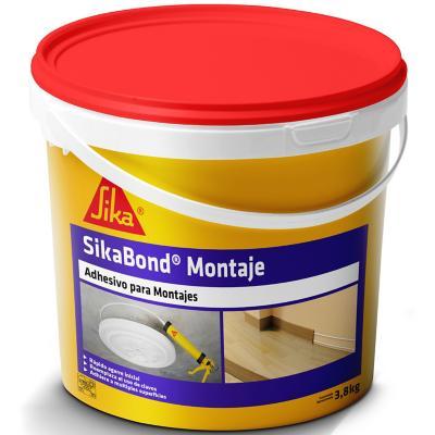 Adhesivo de montaje Sikabond 4 unidades de 3,8 kg