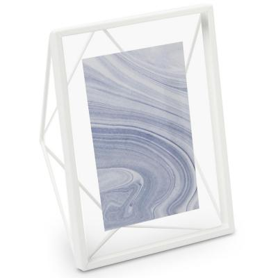 Marco de foto Prisma blanco 10x15 cm