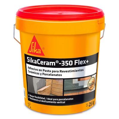 Adhesivo cerámico pasta SikaCeram-350 Flex+ 25 kg