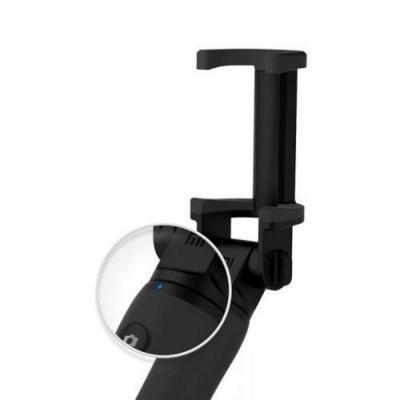 Palo de selfie bluetooth negro