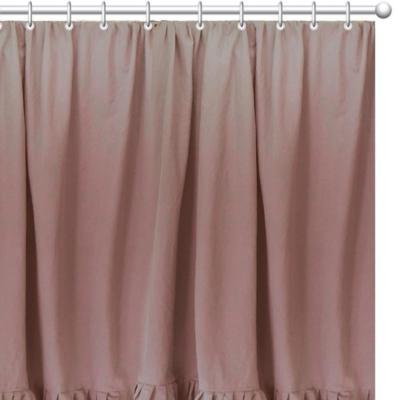Cortina rosa 180x180 cm