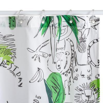 Cortina selva 180x180 cm