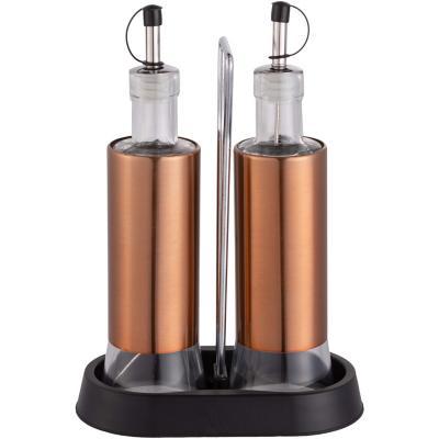 Set alcuza cobre vidrio-metal