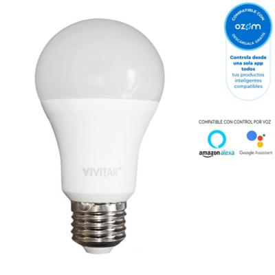 Ampolleta smart wifi led bulbo 1100 lm colores