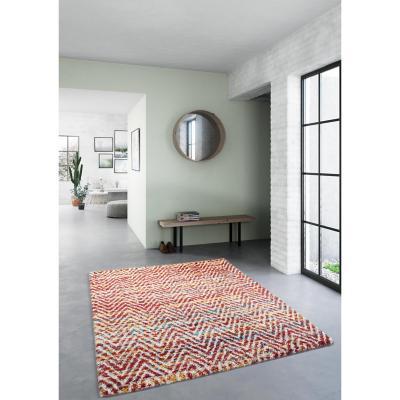 Alfombra Bazar líneas 160x230 cm multicolor