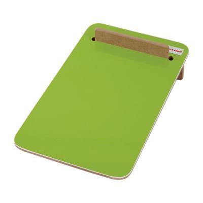 Pizarra memo de escritorio verde 15x23 cm