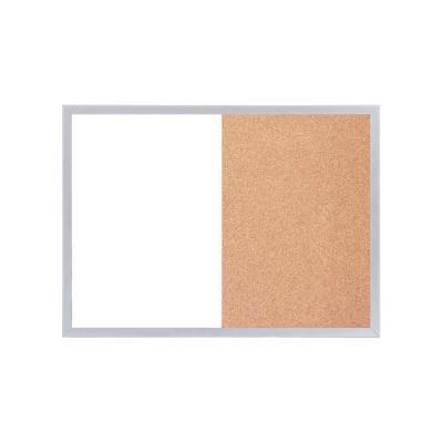 Pizarra magnética corcho blanca 60x45 cm