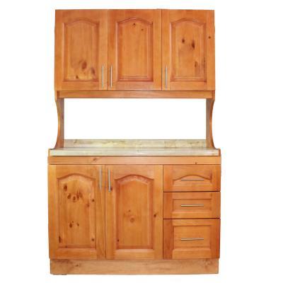 Mueble compacto 3 puertas de madera