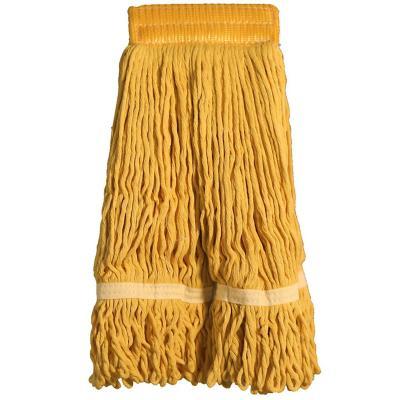 Mopa algodón tipo garra amarillo