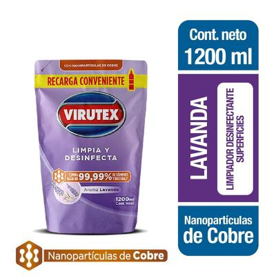 Limpiapiso desinfectante toda superficie doypack 1200 ml